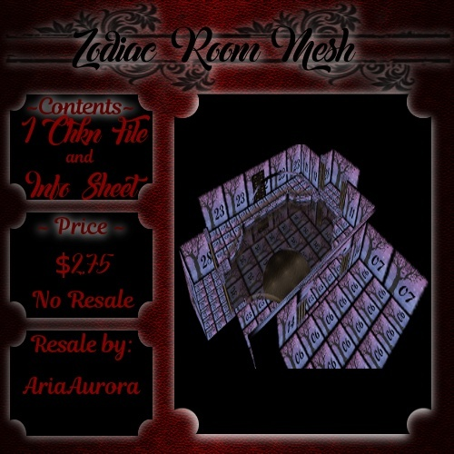 Room Mesh - Zodiac(NoResale)