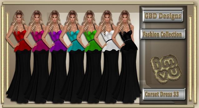 Corset Dress 33 CATALOG ONLY!!