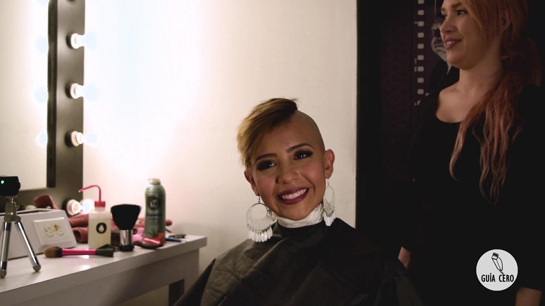 23 Sabrina: long, undercut, bald
