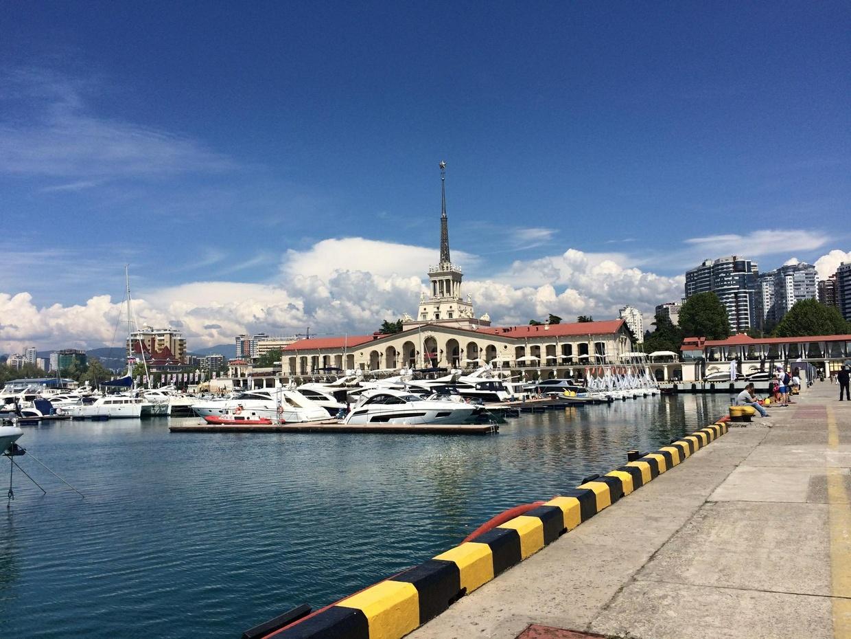 Sea port in Sochi!