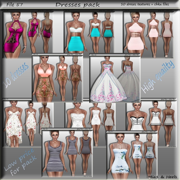 File 57 ( dresses pack )