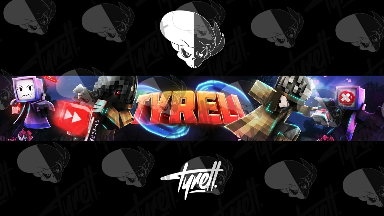 Minecraft Banner/2D Banner [Channel Art]