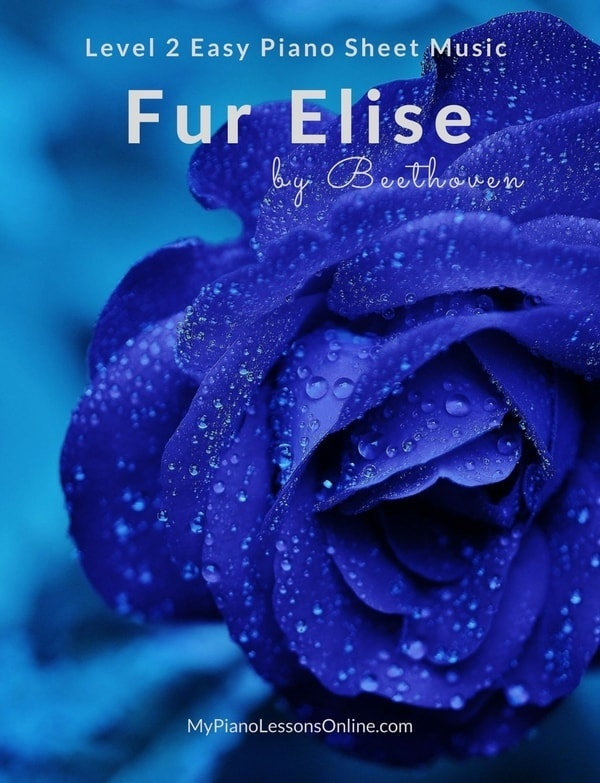 Fur Elise Sheet Music Level 2 Beginner