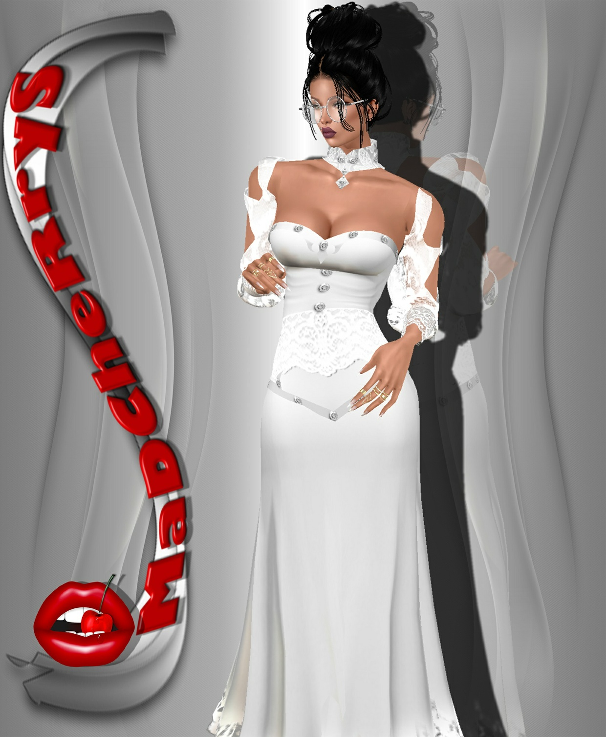 Md wedding dress 05 with resell rights madcherrys imvu for Resell your wedding dress