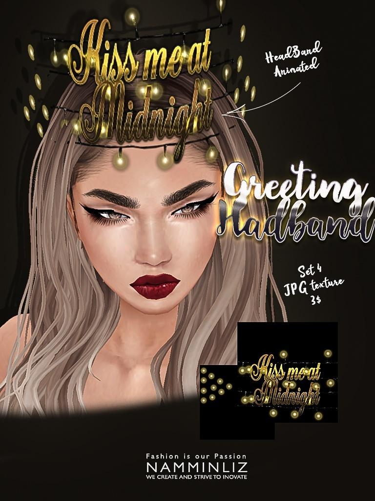 Greeting headband set4 imvu texture JPG NAMMINLIZ filesale