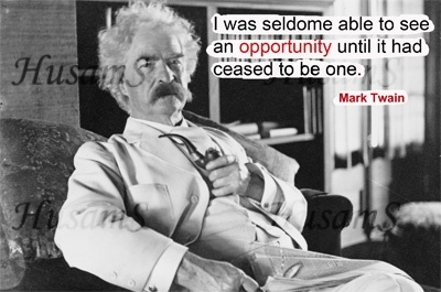 Mark Twain's Picture Quote ( #004 ) (Free Sample)