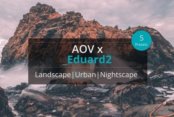 AOV x Eduard2 Lightroom Presets