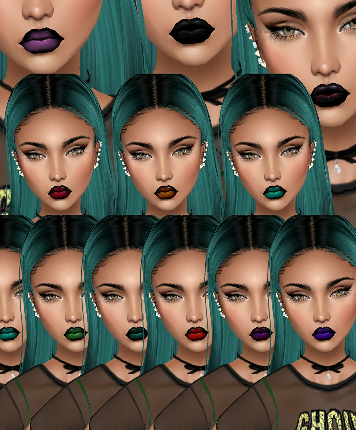 x16 KD COLOURS LIPS - RESELLS RIGHTS