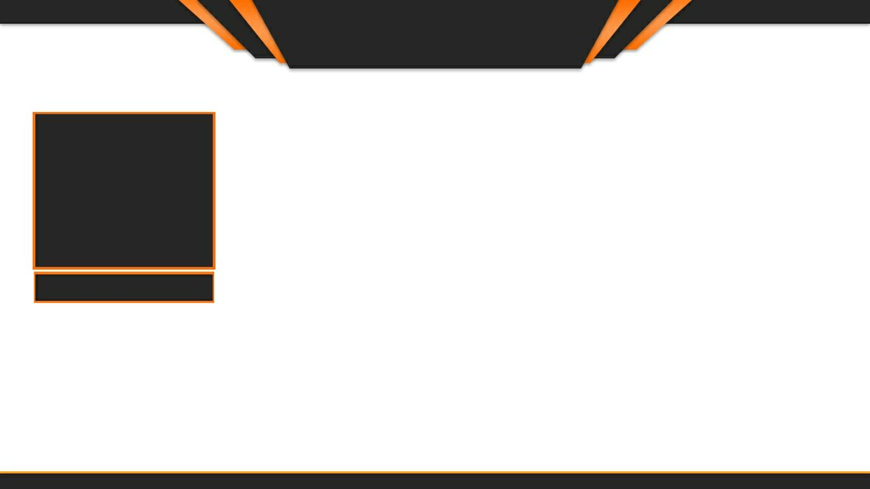 Twitch Overlay Design (Orange & Black