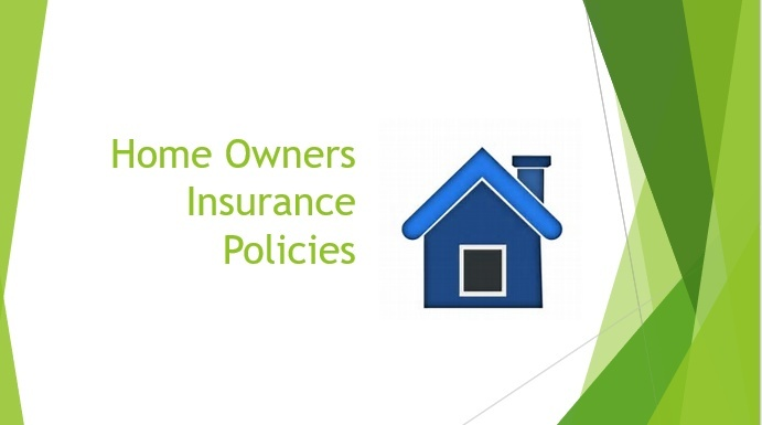 Homeowners Policies