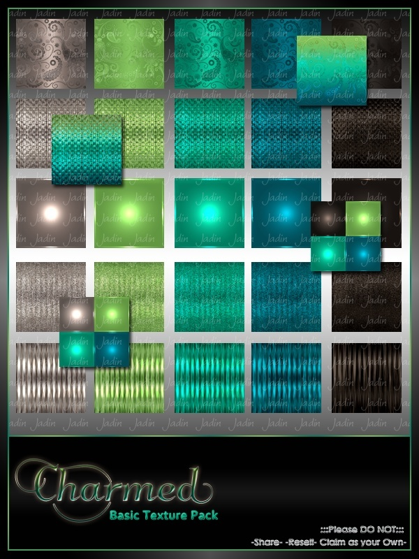 Charmed Basic Texture Pack-- $2.00