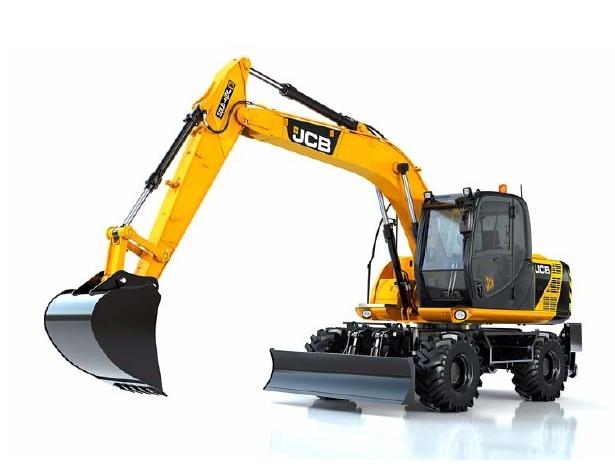 JCB JS145W, JS165W Wheeled Excavator Service Repair Workshop Manual DOWNLOAD