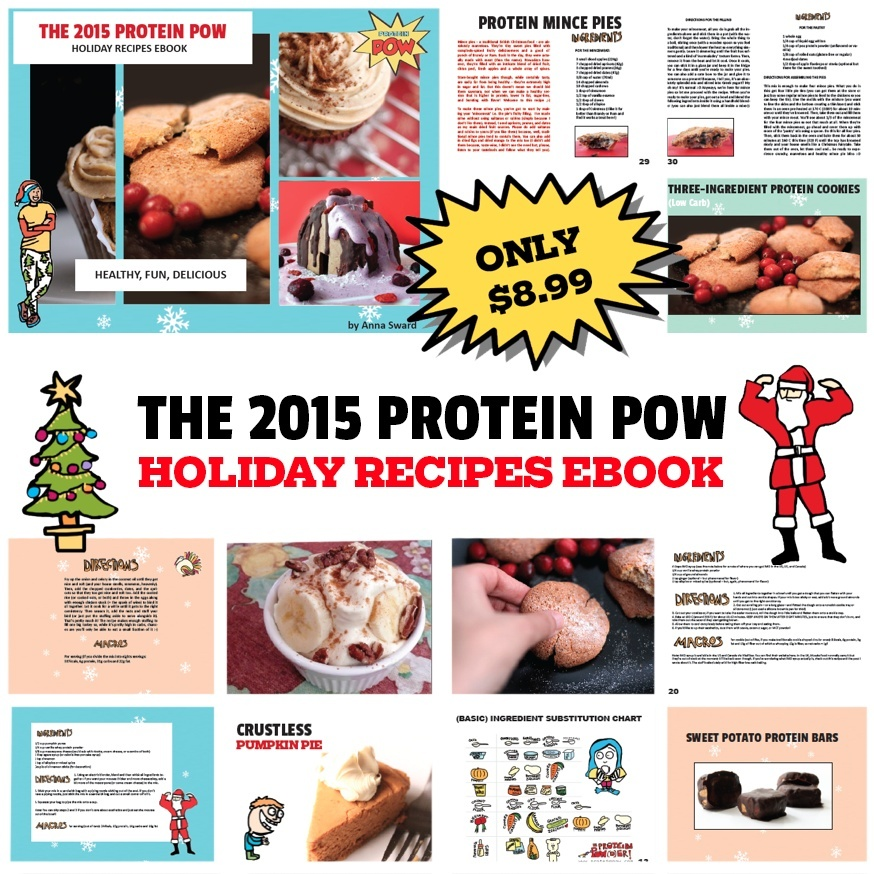 The Protein Pow Holiday Recipes Ebook