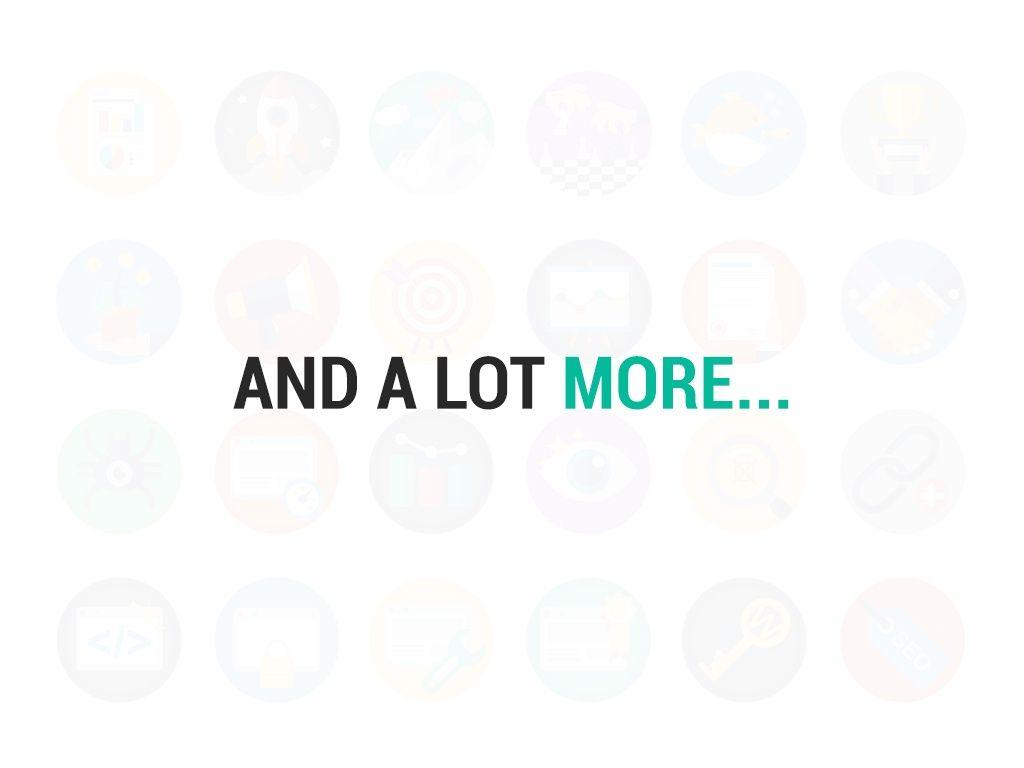 95 Modern Flat Icons