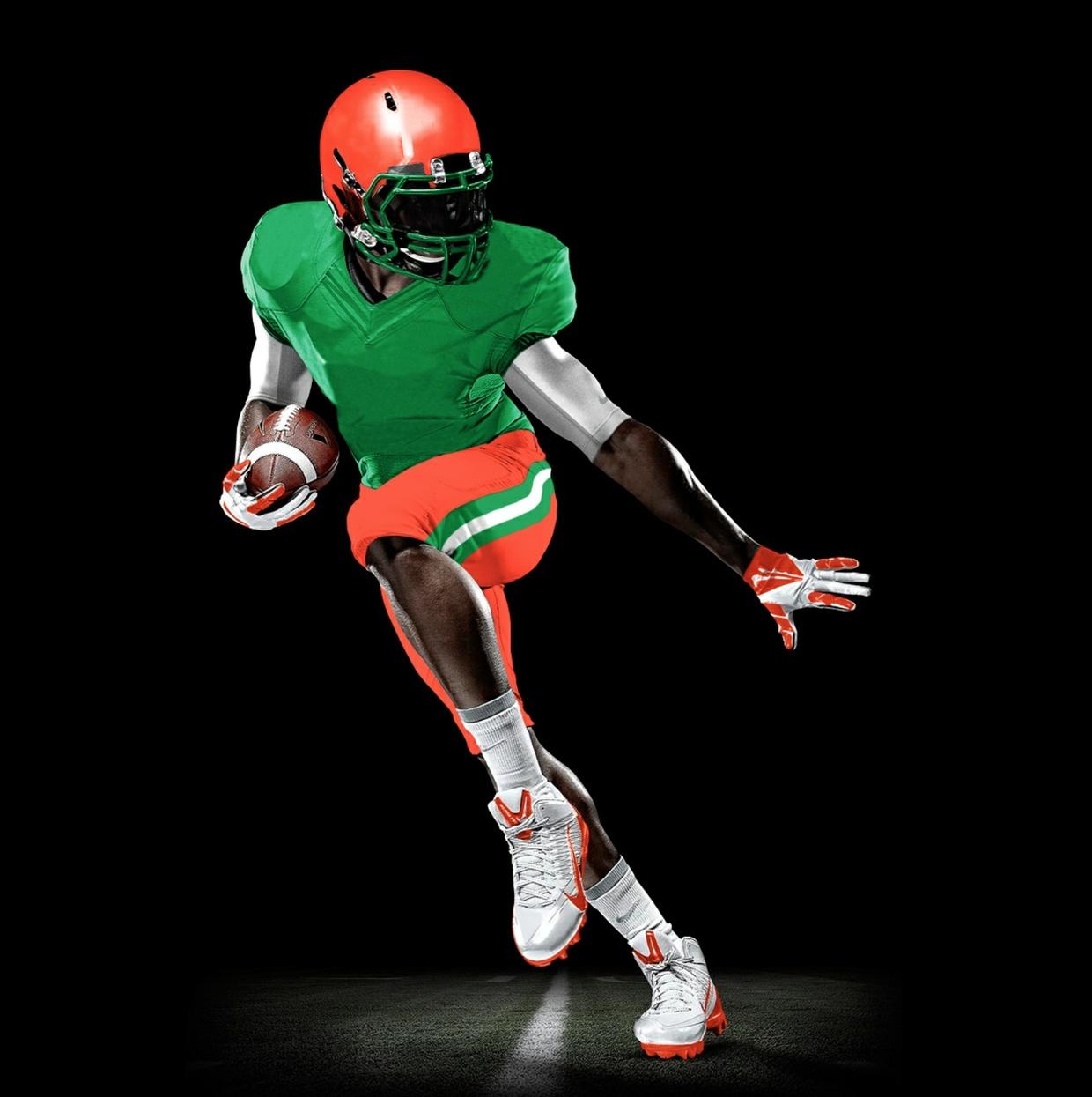 Football uniform template (PSD)