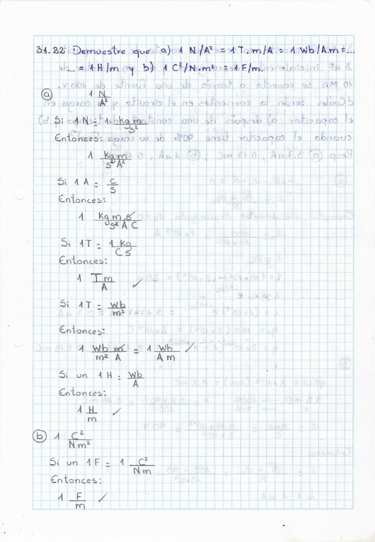 Solucionario de Física General de Schaum - Capítulo 34 - Inductancia, Constantes de tiempo RC y RL