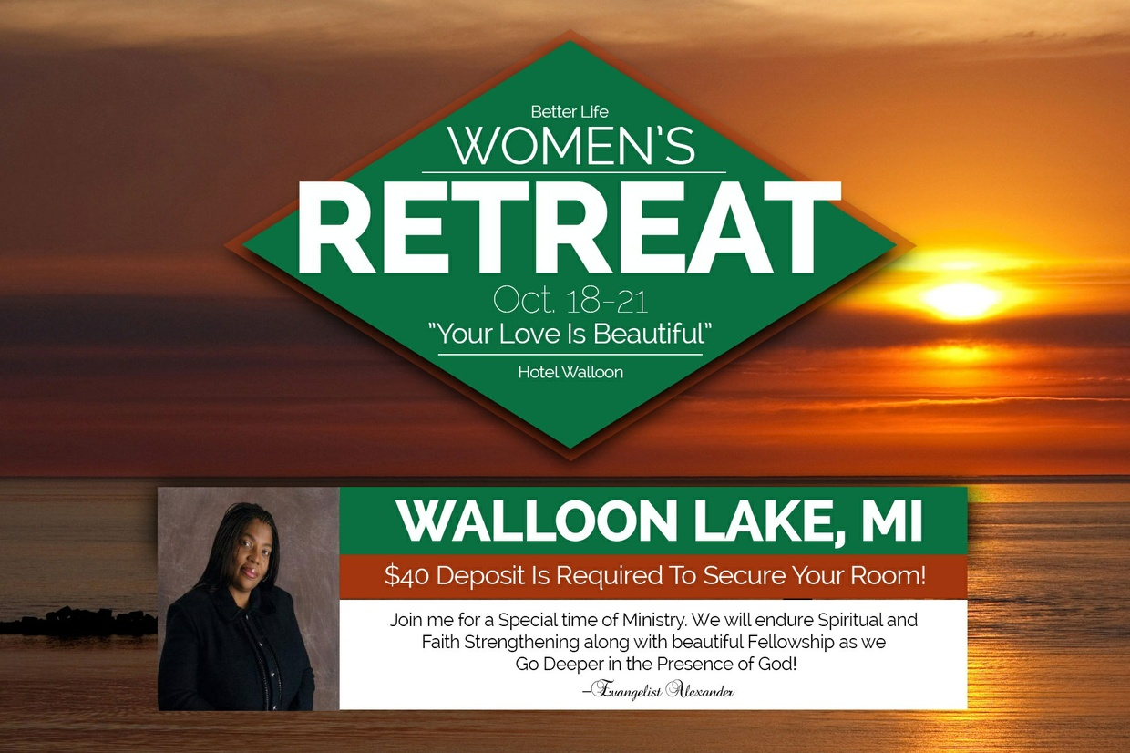 Better Life Women's Retreat Deposit