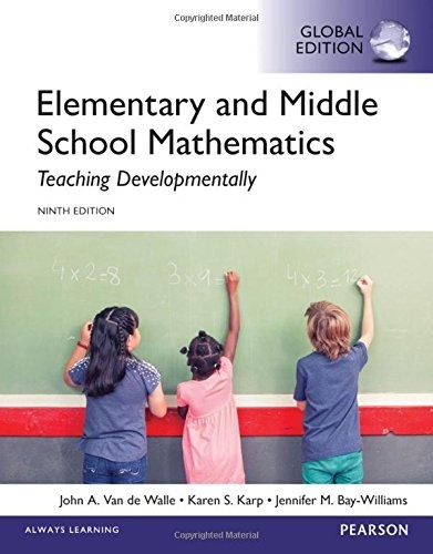 Elementary and Middle School Mathematics Teaching  9th ed ( Global  ) ( PDF, Instant download )