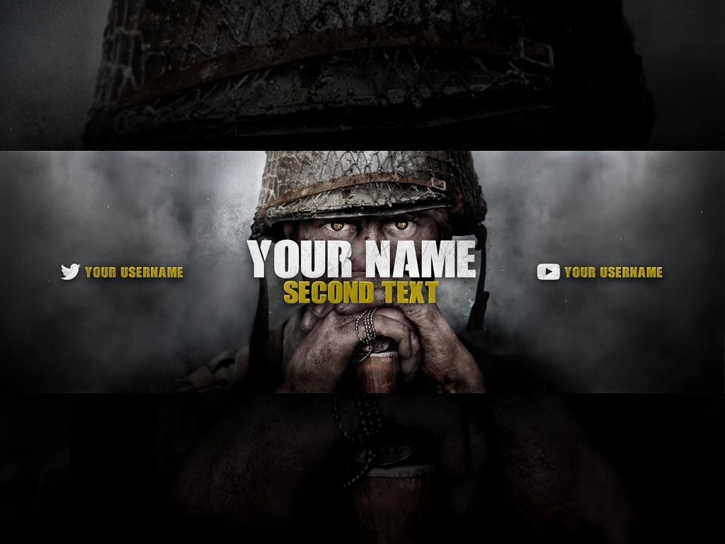 Call of Duty: World War II - Twitter Header