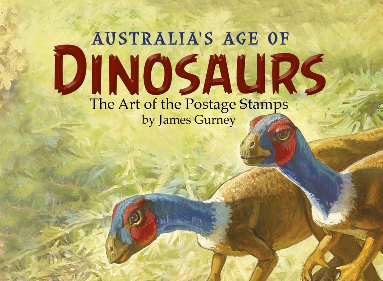 Australia's Age of Dinosaurs: The Art of the Postage Stamps