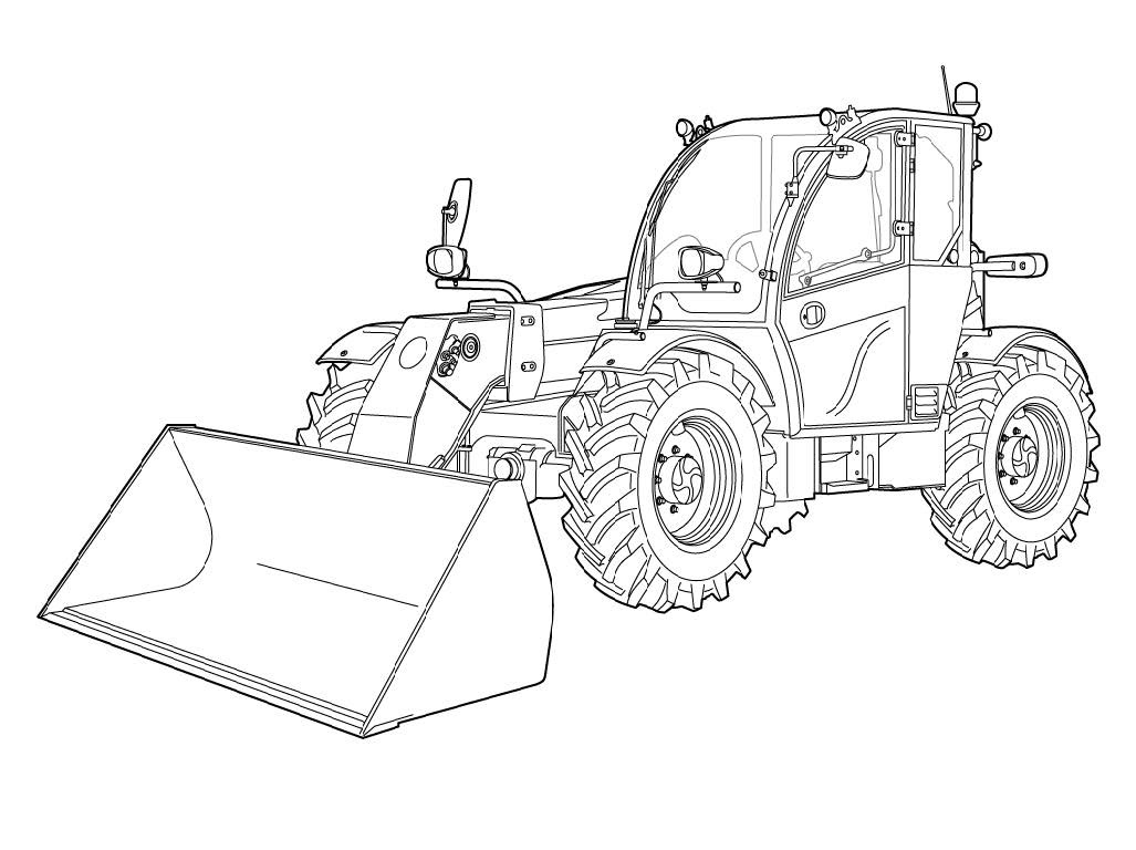 Bobcat TL470(X)HF Telescopic Handler Service Repair Manual Download(S/N AHT411001 & Above ...)