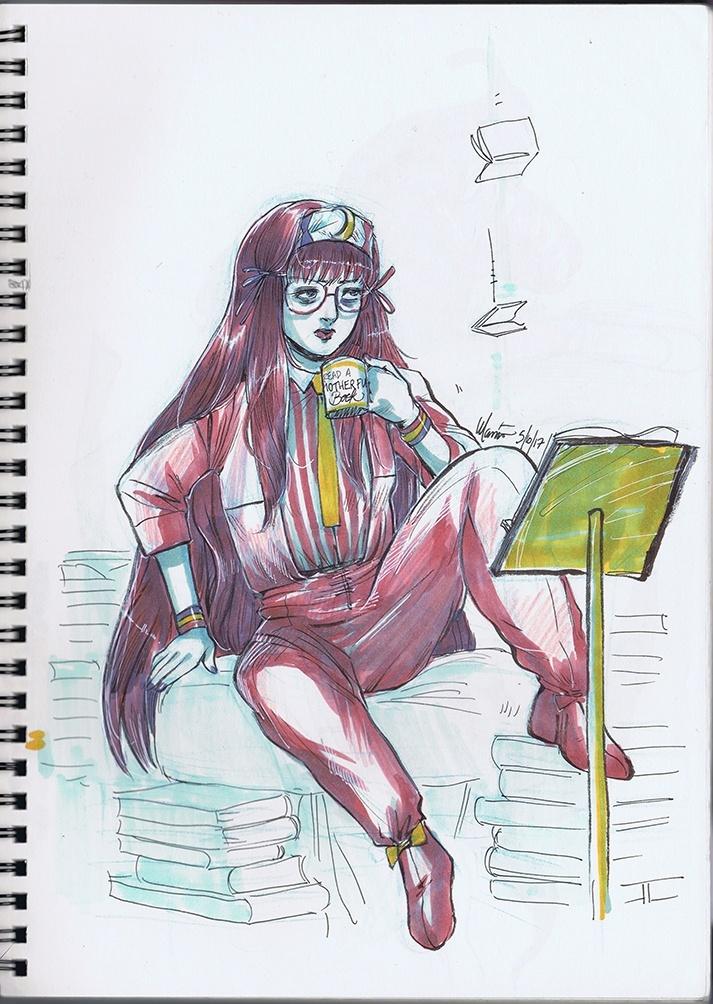 InkTouhouBer Sketchbook (Inktober 2017)