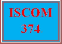 ISCOM 374 Week 3 Inventory and Purchasing Considerations
