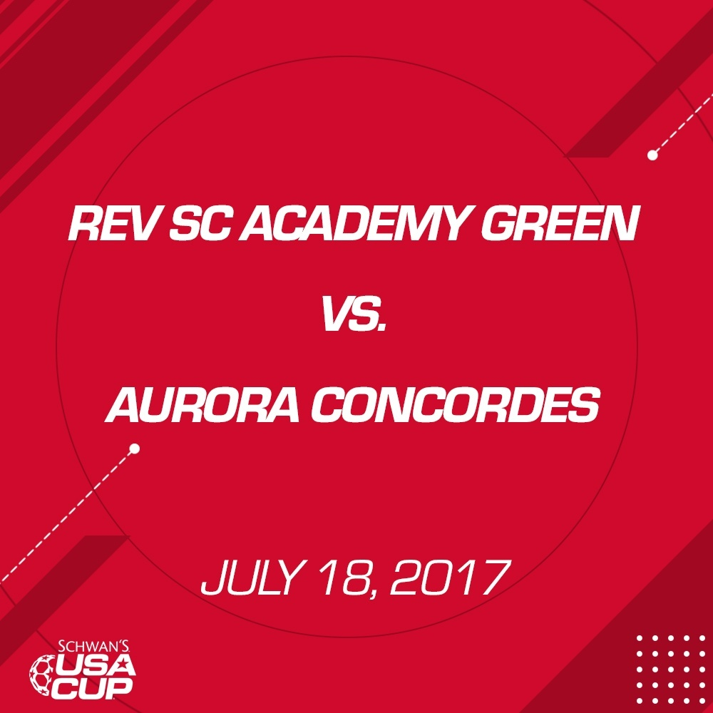 Girls U15 - July 18,2017 - Rev SC Academy Green vs Aurora Concordes