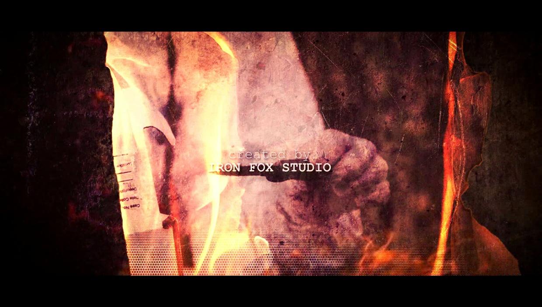 Fire Burning Grunge Opener