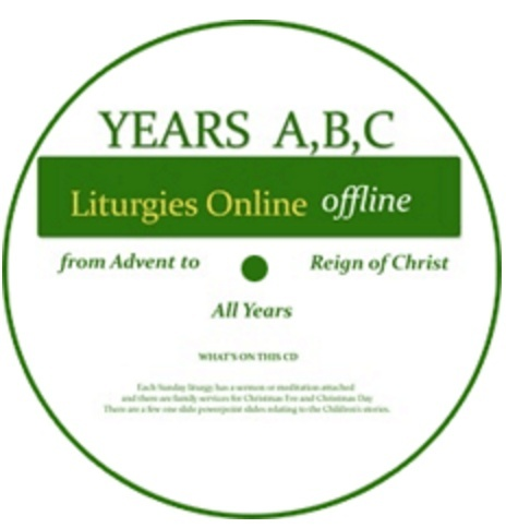 Liturgies Online Years A, B and C in one download