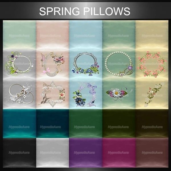 A~SPRING PILLOWS-51 TEXTURES
