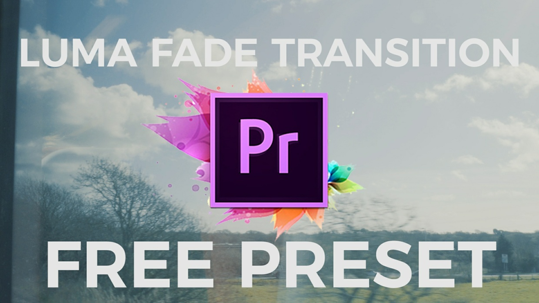 Luma Fade Transition Pack For Adobe Premiere Pro CC