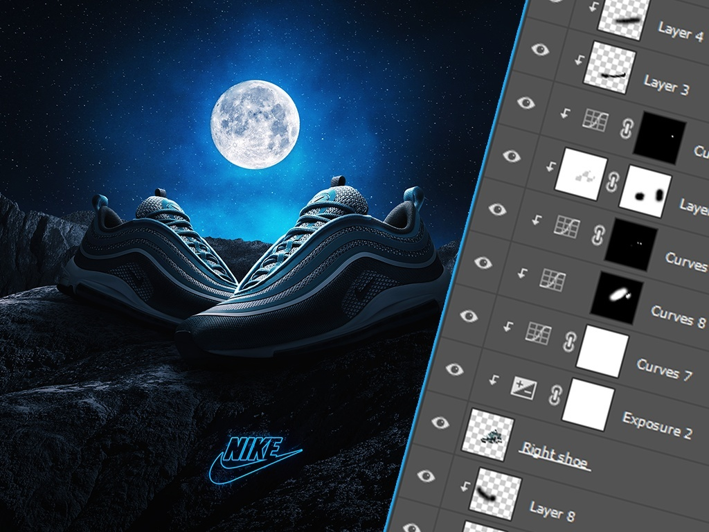 Air Max 97 Advertisement Project File
