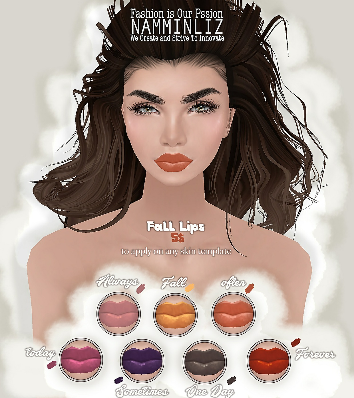 Fall 7 Lips PNG