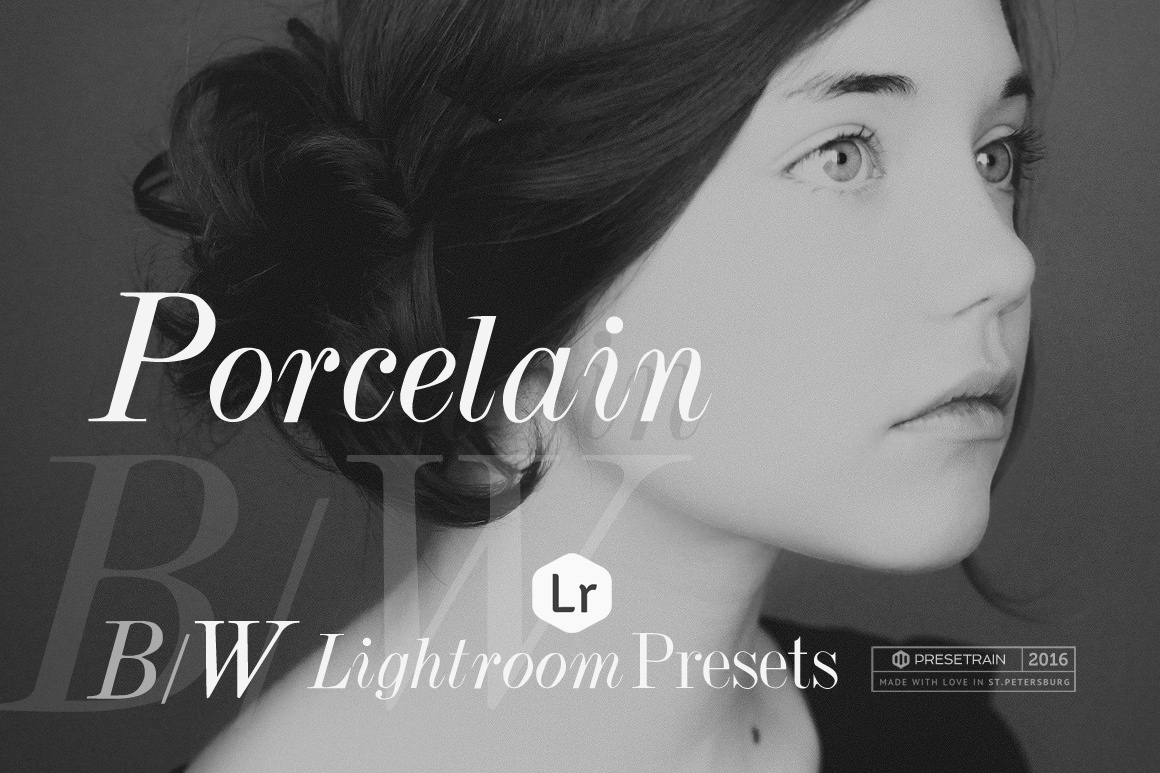 Porcelain Black & White Lightroom Presets