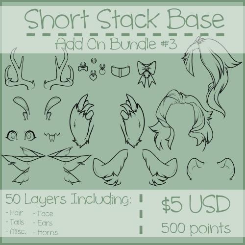 Short Stack Add On Bundle #3