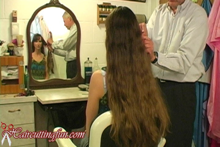Susan's Short Shag Haircut - VOD Digital Video on Demand