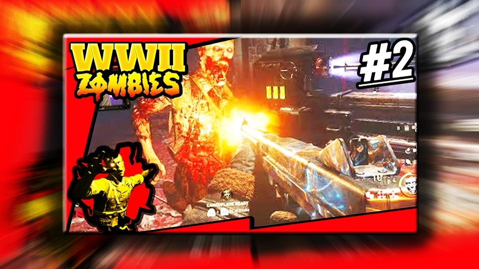 WW2 Zombies Thumbnail Template - PSD