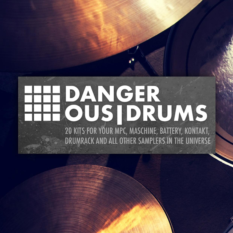 Dangerous Drums - 20 filthy drumkits