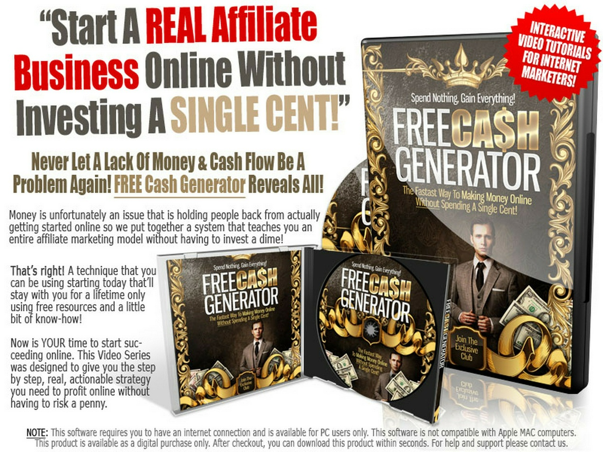 Website Auto Traffic Generator Ultimate >> Free Cash Generator | PerfectYourSkill - Sellfy.com