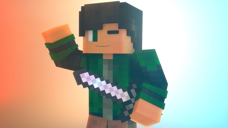 Minecraft Banner [3D]
