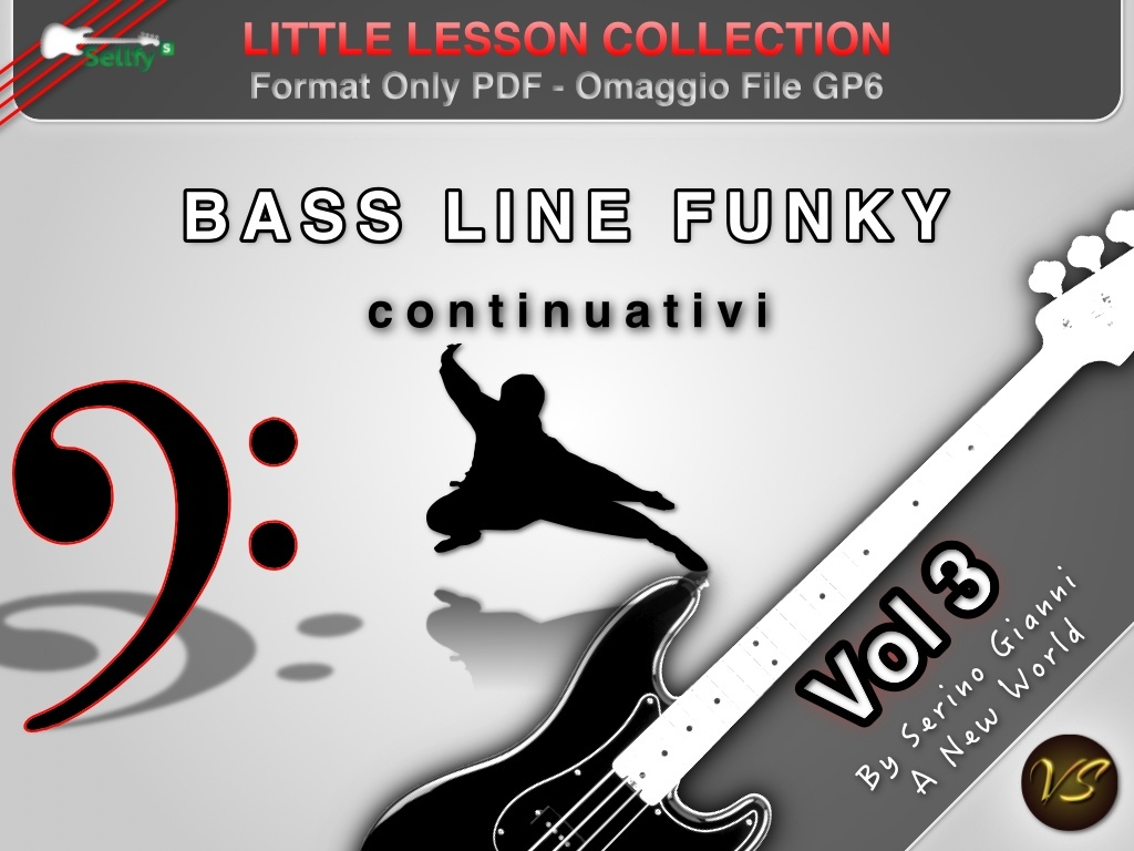LITTLE LESSON VOL 3 - Format Pdf (in omaggio file Gp6)