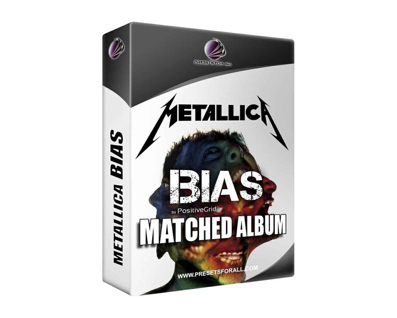 Metallica Bias Desktop Matched Album