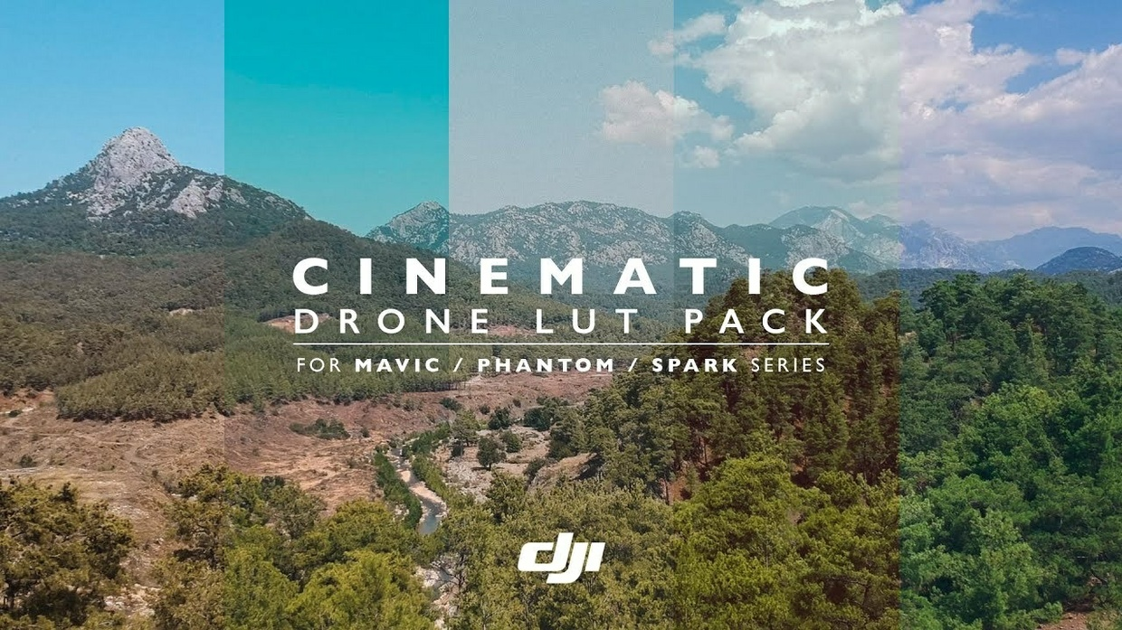 DJI Cinematic Drone LUT Pack