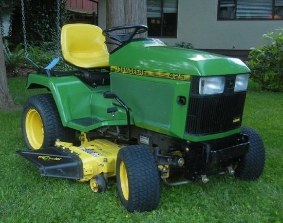 John Deere 425, 445, 455 Lawn & Garden Tractors Service Technical Manual TM1517