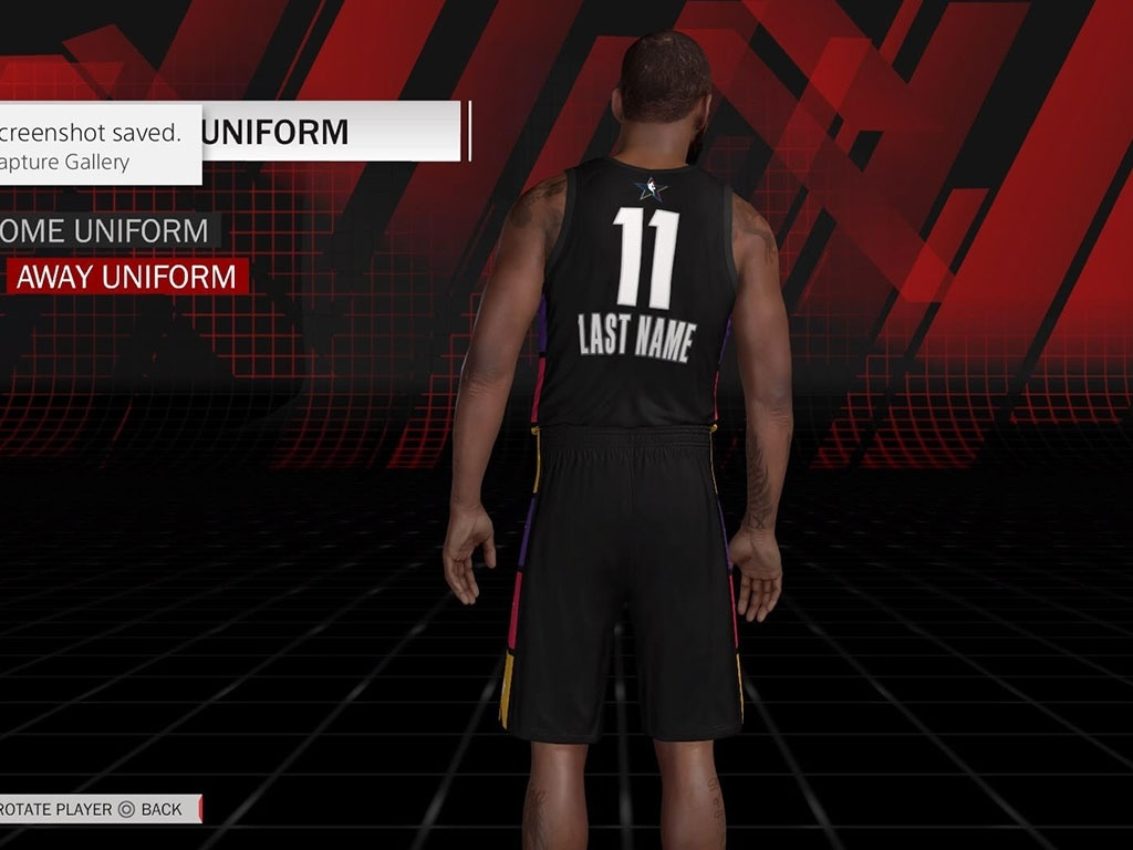 2018 NBA All Star Jersey & Arena