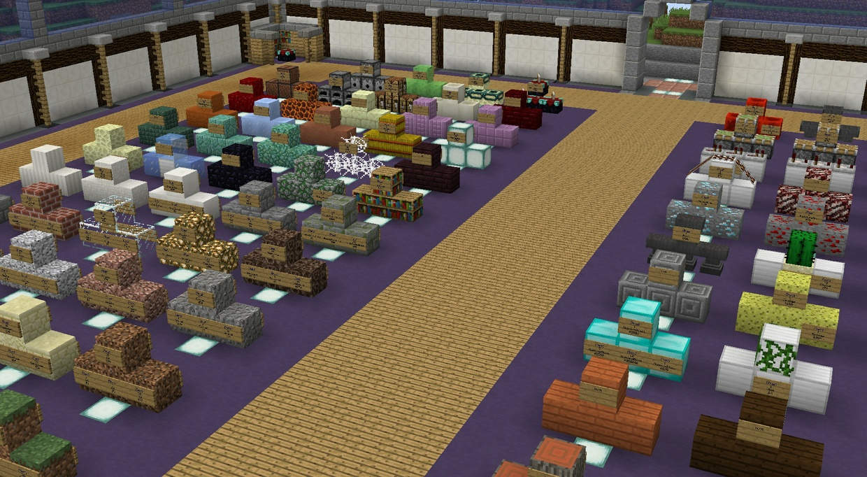 Minecraft Server 1.11.2 Premade Towny, Skyblock, Hub and Creative
