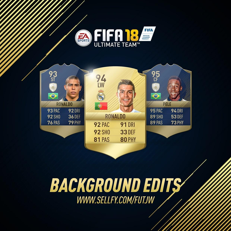 FIFA 18 INSTAGRAM TEMPLATE