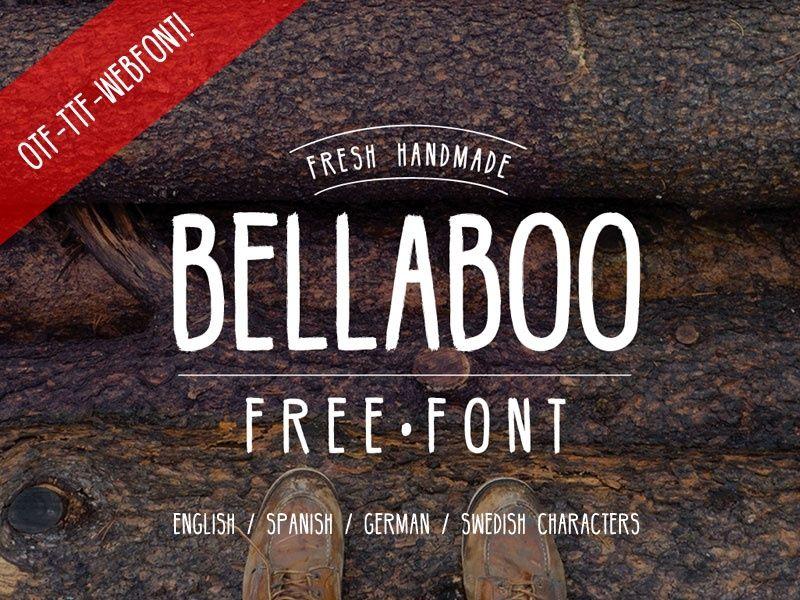 BELLABOO FREE FONT