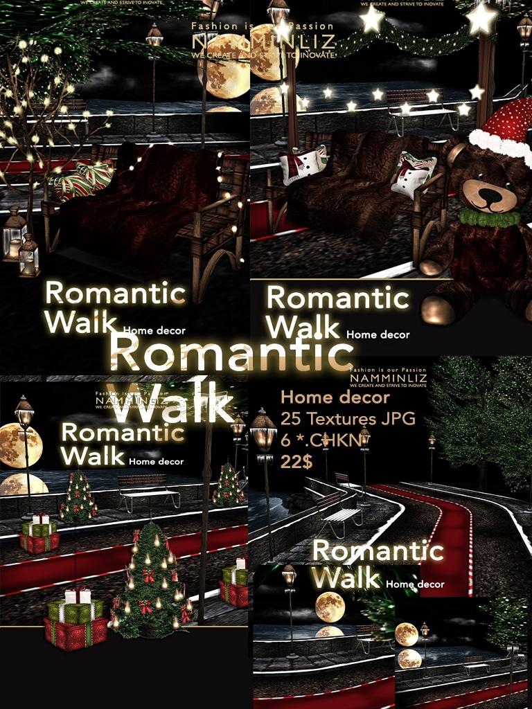Romantic walk home decor imvu 25 JPG Textures, 6 *. CHKN NAMMINLIZ file-sale